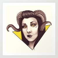 Id - The Devil Is A Woma… Art Print