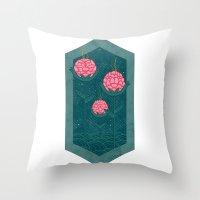 Three Is Company Throw Pillow