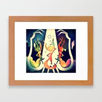 Only If You Try Framed Art Print