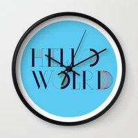 Hello World | Comp Sci S… Wall Clock
