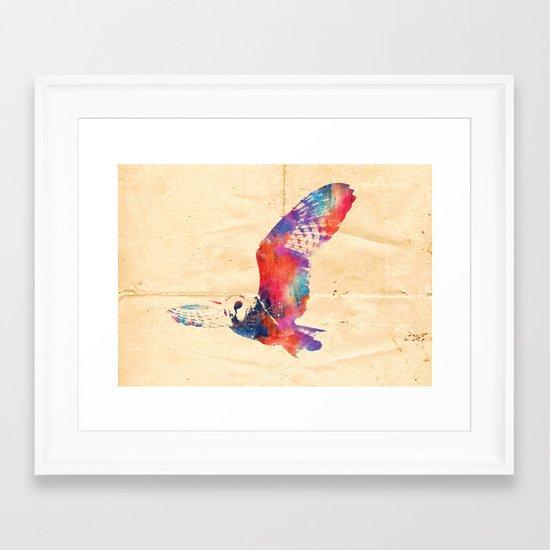 Its a hoot  Framed Art Print