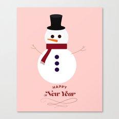 Snowman 2016 Canvas Print