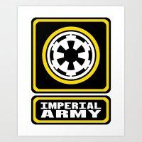 Imperial Army Art Print