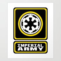 Imperial Army Art Print