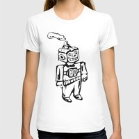 Smoke-bot Womens Fitted Tee White SMALL