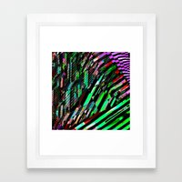 Casino Zone Framed Art Print