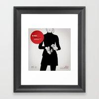 SIDE - A  Framed Art Print