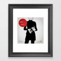 SIDE - A  Framed Art Print