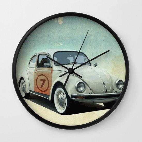 Number 7 - VW beetle Wall Clock