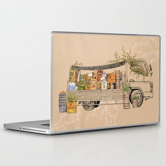 Green Invasion Laptop & iPad Skin