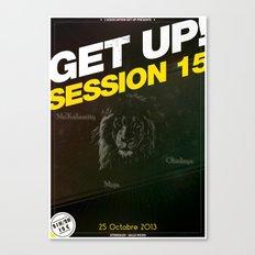 Concert : Get Up Session Canvas Print