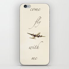 Come Fly With Me 2 iPhone & iPod Skin