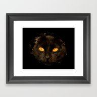 DARK DELIGHT Framed Art Print