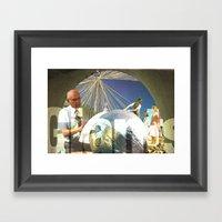 GIANTS Framed Art Print