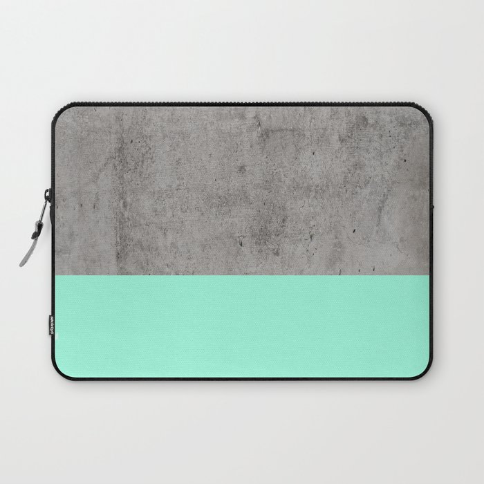 Sea On Concrete Laptop Sleeve By Cafelab