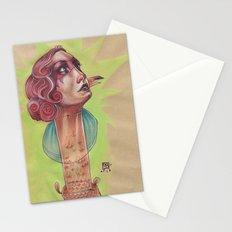 SUPER FLAMINGO Stationery Cards
