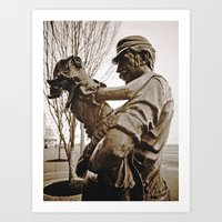 Art Print featuring Working-class tribute by Vorona Photography