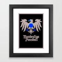 Bundesliga Football - Eagle Logo Framed Art Print