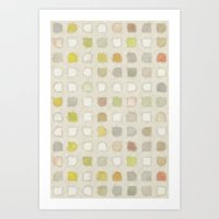 Retro Touch - Painting Style Art Print