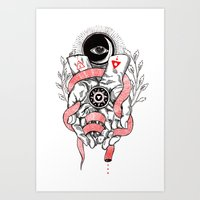 The Blood offering Art Print
