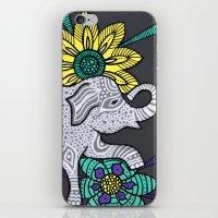 Zen Elephant iPhone & iPod Skin