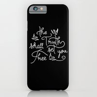 iPhone & iPod Case featuring The Truth Shall Set You Free by Thomas Ramey