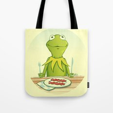 Kermit Loves Facon Tote Bag