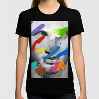 Composition 534 Womens Fitted Tee Black SMALL