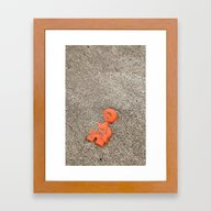 Lost Toy Framed Art Print