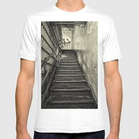 Alcatraz Mens Fitted Tee White SMALL