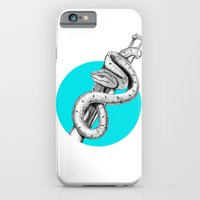 iPhone & iPod Case featuring SNAKE by HanYong