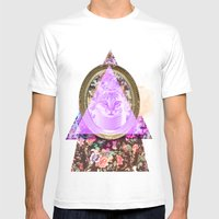 Mirror mirror on the wall who's the fairest of them all Mens Fitted Tee White SMALL
