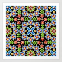 Decorative Gothic Reviva… Art Print