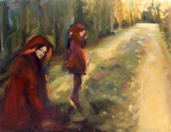 Agnes - Autumn Art Print