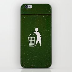 Trash - Put here please! iPhone & iPod Skin