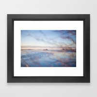 The Sea. Framed Art Print