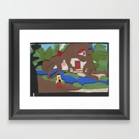 King's Quest IV: The Per… Framed Art Print