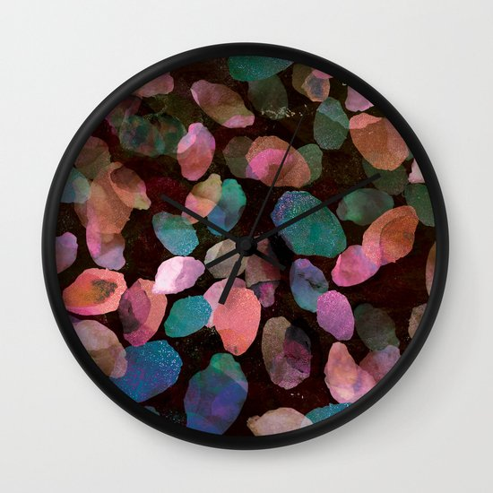 Galactic Gems  Wall Clock
