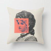 Sunday Girl Throw Pillow