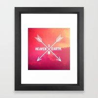 Heaven On Earth Framed Art Print