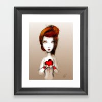 I'm Giving This To You Framed Art Print