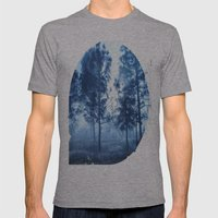 Black Forest Mens Fitted Tee Athletic Grey SMALL
