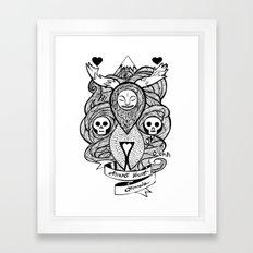 Amor Vincit Omnia Framed Art Print