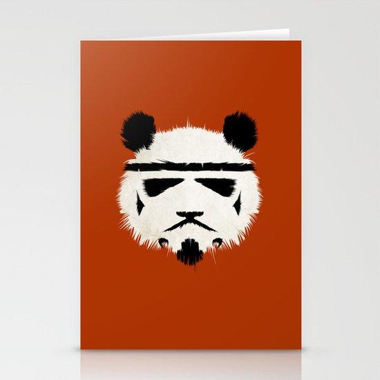 Panda Trooper Stationery Card