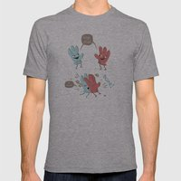 High Five (gloves Versio… Mens Fitted Tee Athletic Grey SMALL
