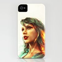 iPhone 4s & iPhone 4 Cases featuring When the Sun Came Up by Alice X. Zhang