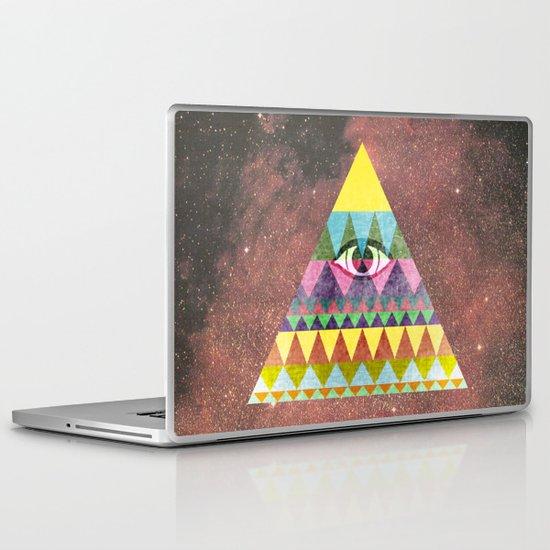 Pyramid in Space. Laptop & iPad Skin