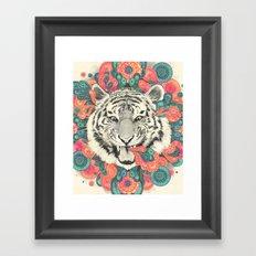 Bengal Mandala Framed Art Print