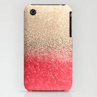GOLD CORAL iPhone (3g, 3gs) Slim Case