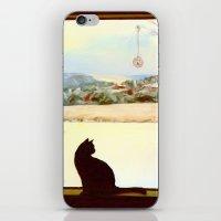 Tosca's Winter Window iPhone & iPod Skin